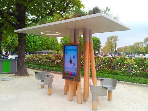 Le mobilier urbain