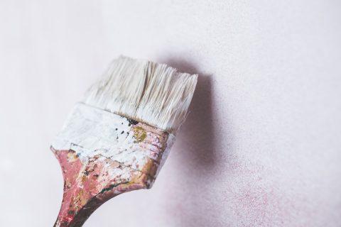 Pinceau pour la peinture